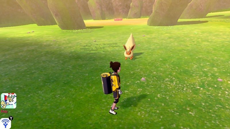 Steps to catch Flareon in Pokémon Sword and Shield
