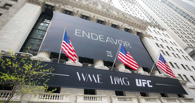 The Endeavor stock is trading at NYSE under the symbol