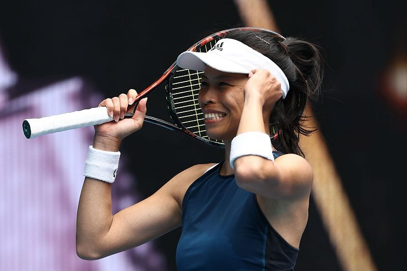 Hsieh Su-wei at the 2021 Australian Open