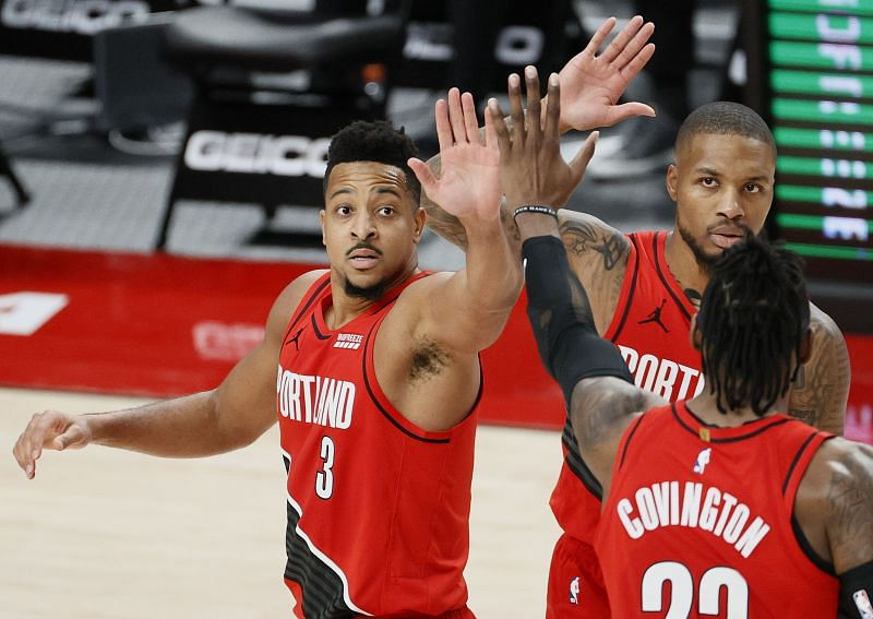 The Portland Trail Blazers take on the Indiana Pacers next.