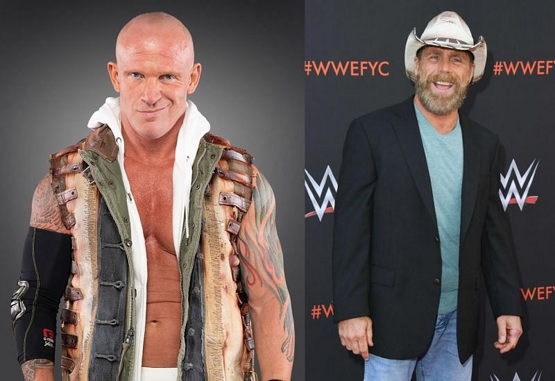 Eric Young and Shawn Michaels
