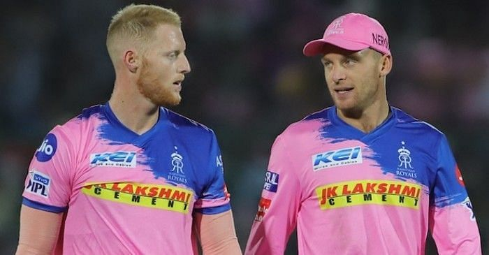 Ben Stokes and Jos Buttler (PC: Twitter)