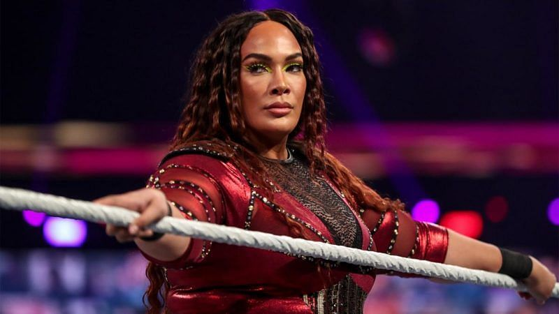 Nia Jax is not holding back against Tamina (Credit: WWE)