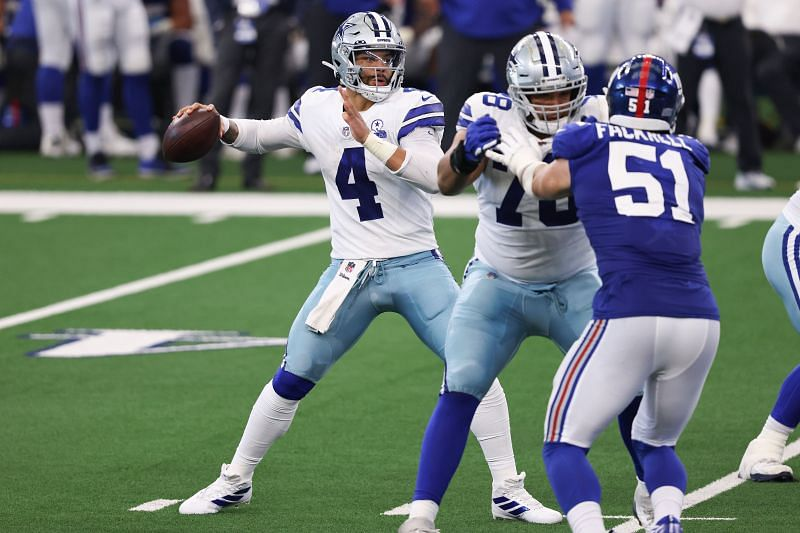Dallas Cowboys QB Dak Prescott Starred In Preseason During His Rookie Year in 2016.
