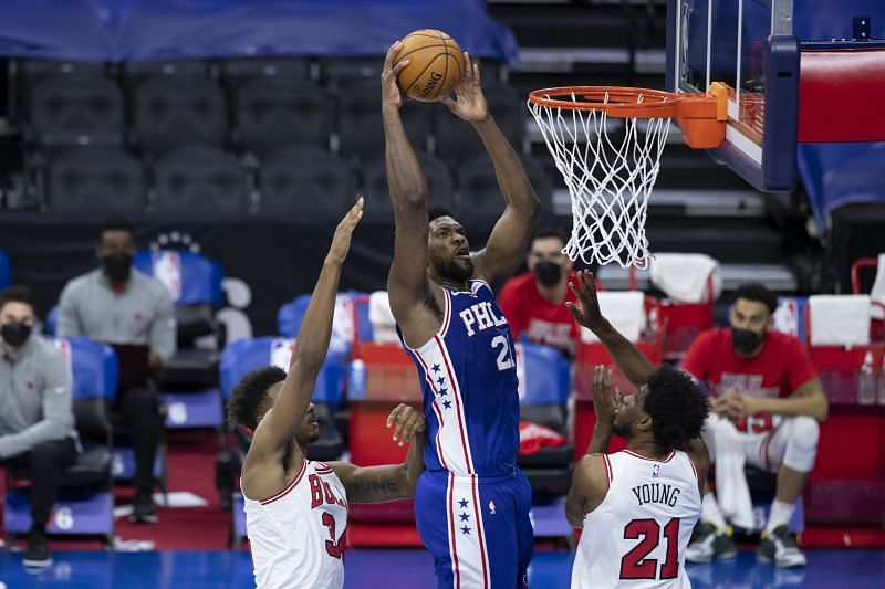 Joel Embiid is registering close to 30 points a night this season
