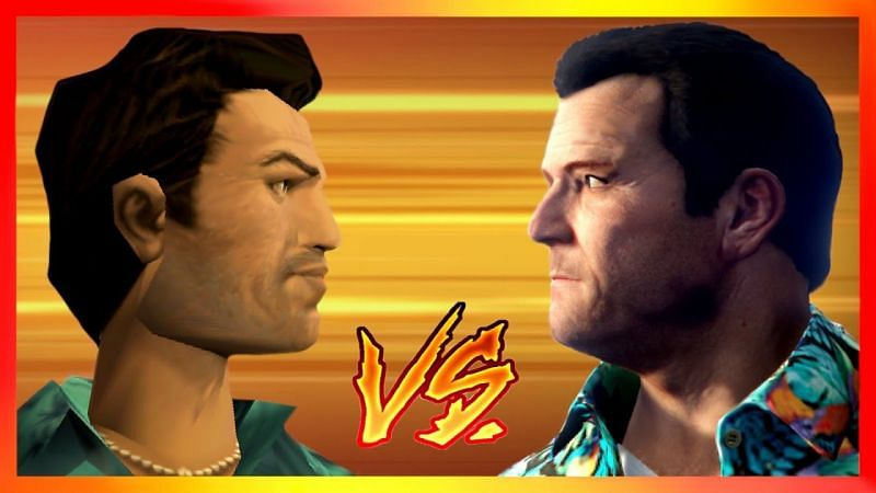 The last time the player saw Tommy Vercetti was in GTA Vice City in 1986 (Image via Cyberspace and Time)