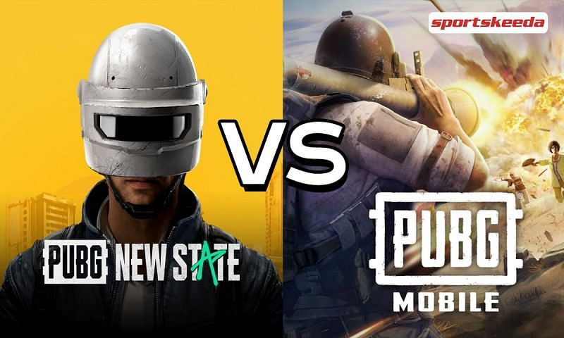 PUBG New State vs PUBG Mobile (Image via Sportskeeda)