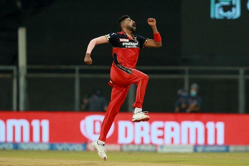 Mohammed Siraj Pic: IPLT20.COM