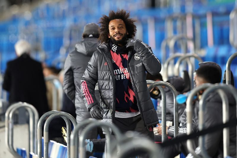 Marcelo shined on a rare pitchside appearance for Real Madrid.