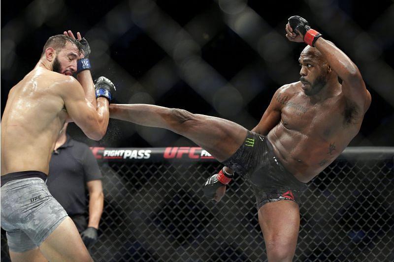 Jon Jones vacated the UFC light heavyweight title in August 2020