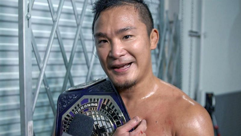 KUSHIDA defeated Santos Escobar to become WWE NXT Cruiserweight Champion for the first time in his WWE career this week on NXT