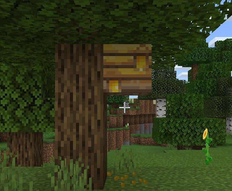 Behavior of Bees in Minecraft
