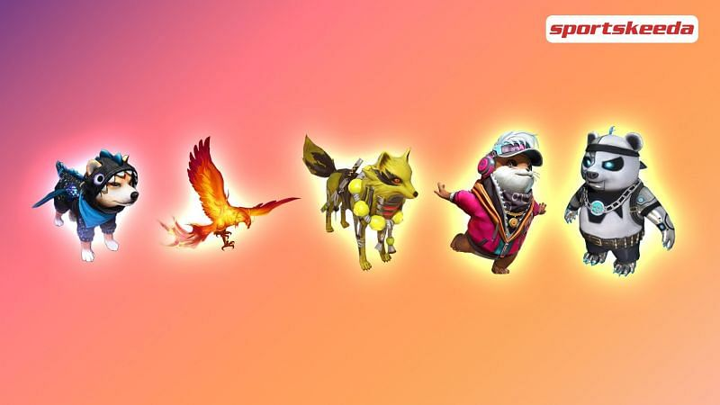 There are currently 14 pets available in Free Fire (Image via Sportskeeda)