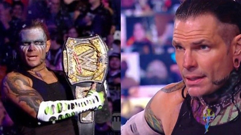 Jeff Hardy wants another world championship run in WWE before his in-ring career ends.