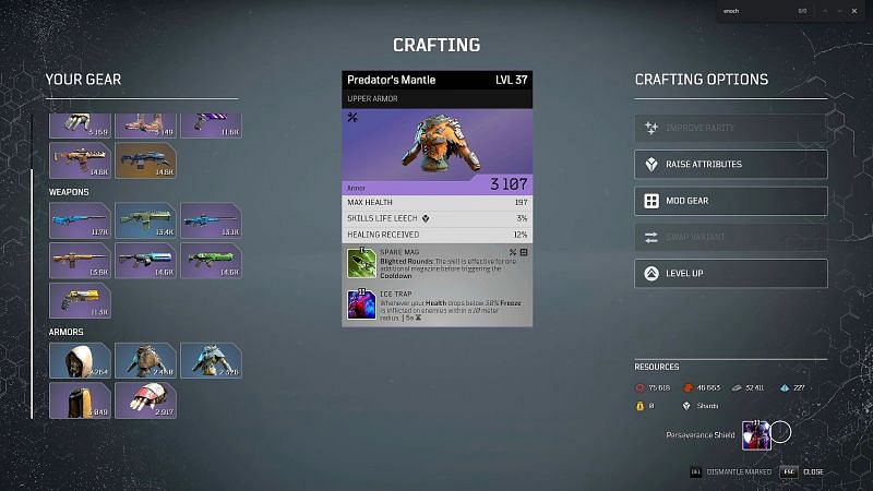 Outriders crafting guide: Everything new players need to know (Image via ITZ JIMBO )