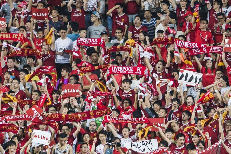 Big clubs have a huge fan following outside their home country. (Photo by Victor Fraile/Getty Images)
