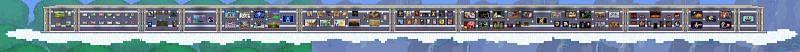 Terraria has some impressive pixel art.