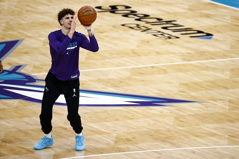 LaMelo Ball is a game-time decision for the game against Detroit Pistons.