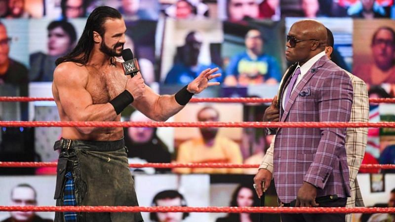 Drew McIntyre and Bobby Lashley will clash at WrestleMania 37
