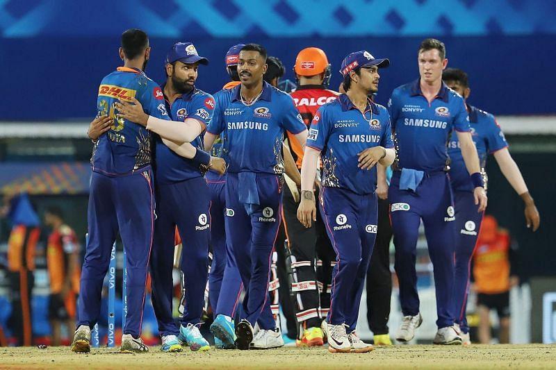 The Mumbai Indians won their second consecutive game in IPL 2021 (Image courtesy: IPLT20.com)