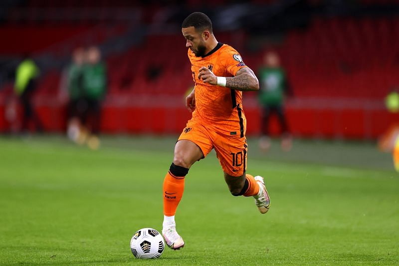 Memphis Depay has scored an impressive 74 goals in 173 appearances for Lyon in all competitions