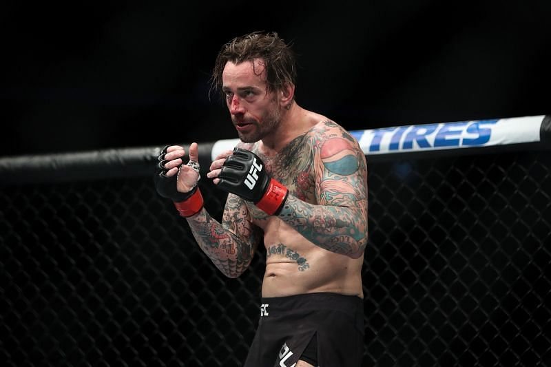 CM Punk looked way out of his depth in the UFC.