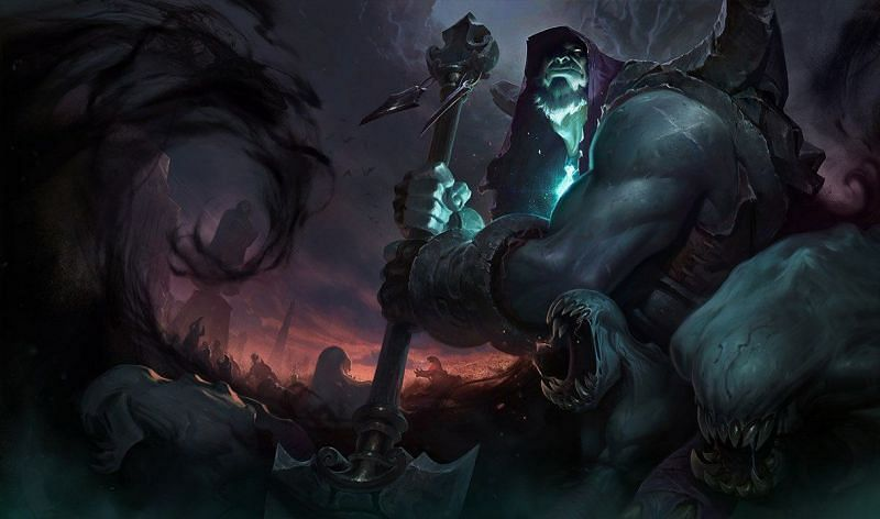 Yorick has come back to life since the 11.7 buff ( Image via Riot Games - League of Legends)