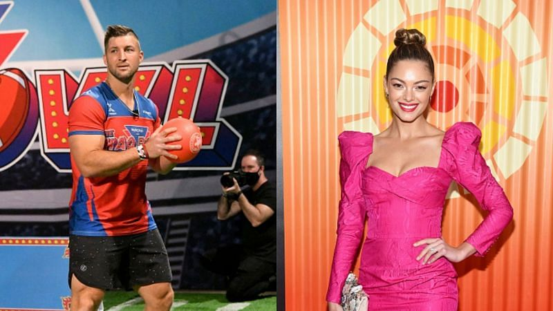 Tim Tebow and Demi-Leigh Nil-Peters