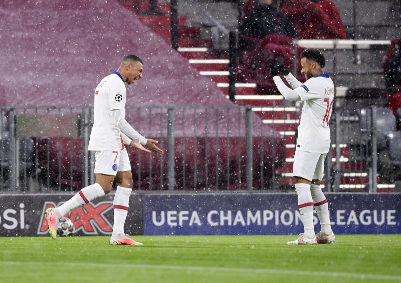 PSG defeated Bayern 3-2 in the Champions League.