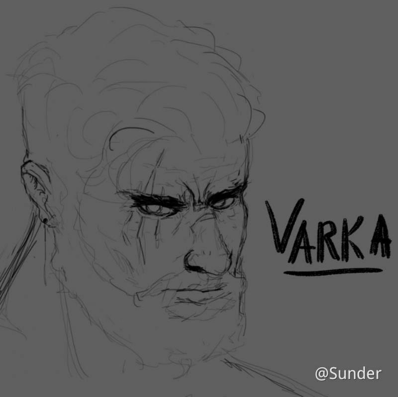 Varka fanart by Sunder (Image via Sunder, HoYoLab)
