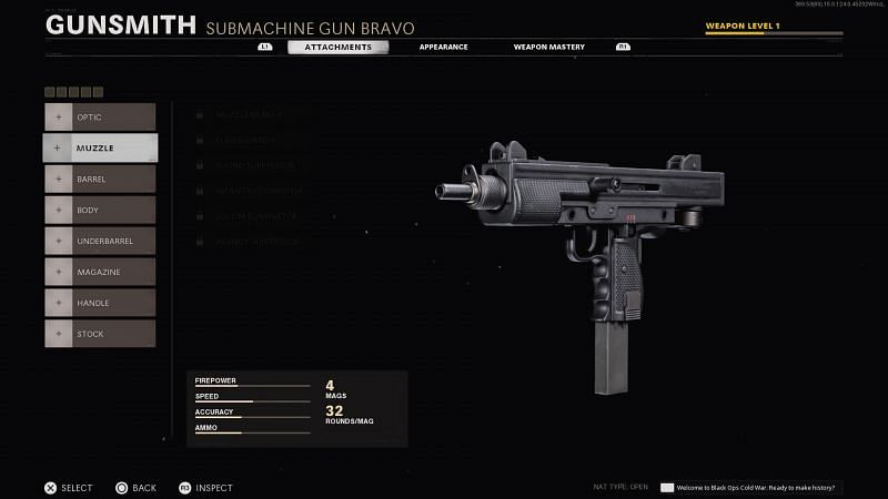 Attachments used are incredibly important in creating a build that can compete with the best submachine guns in Black Ops Cold War (Image via Activision)