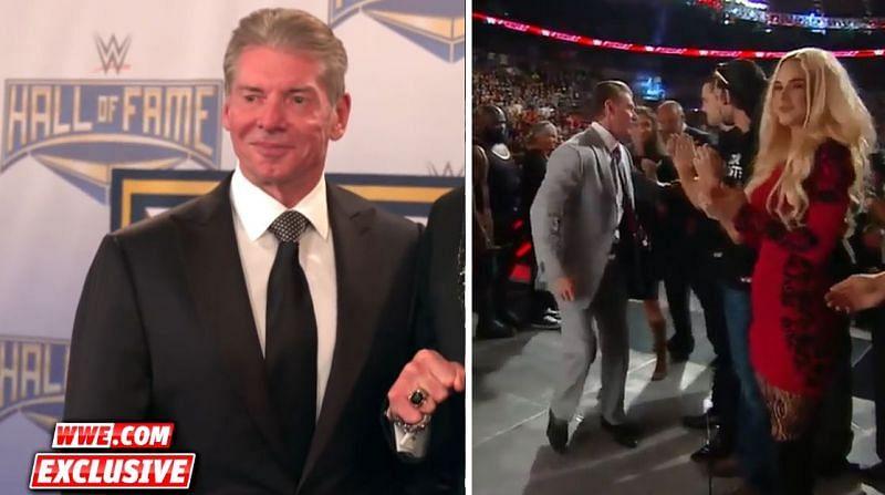 Vince McMahon and Titus O
