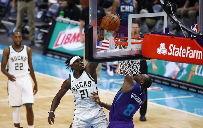 Milwaukee Bucks v Charlotte Hornets