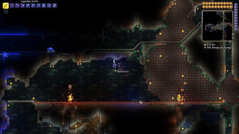 Once you feel a bit more confident with your new armor and weapons, you can go into the caves with a Battle Potion and Water Candle