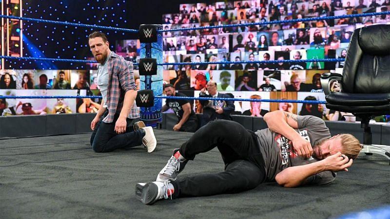 Daniel Bryan and Edge on WWE SmackDown