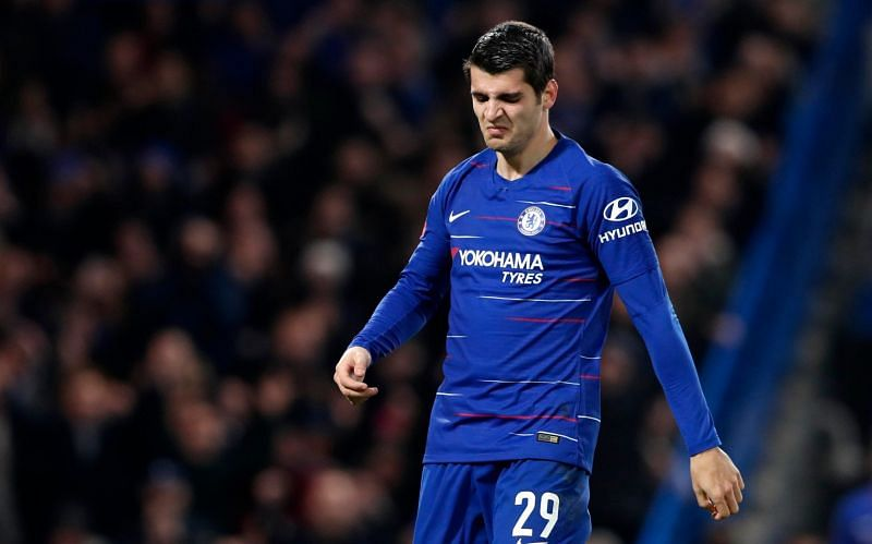 Alvaro Morata is one of several talented forwards who struggled at Chelsea.