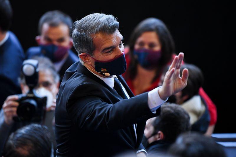 Barcelona president Joan Laporta