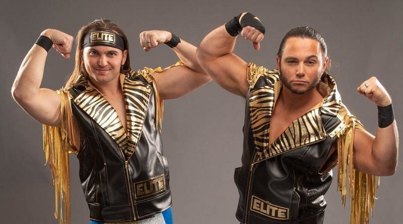 What did The Young Bucks do on AEW Dynamite tonight?