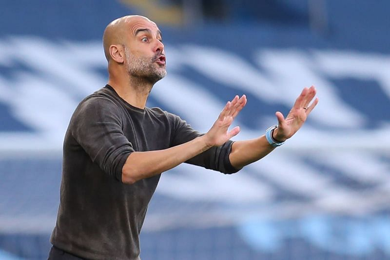 Pep Guardiola will take a fully-fit squad to South London