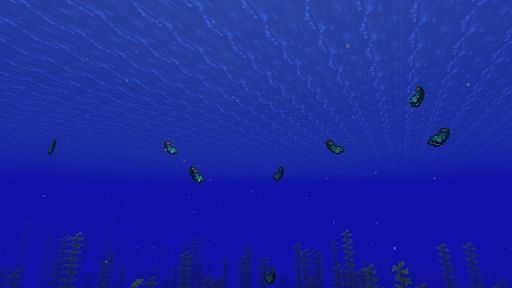 Drops of Glow Squid in Minecraft