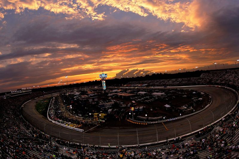 Richmond Raceway will host the Cup and Truck Series races this weekend. Photo by Brian Lawdermilk/Getty Images