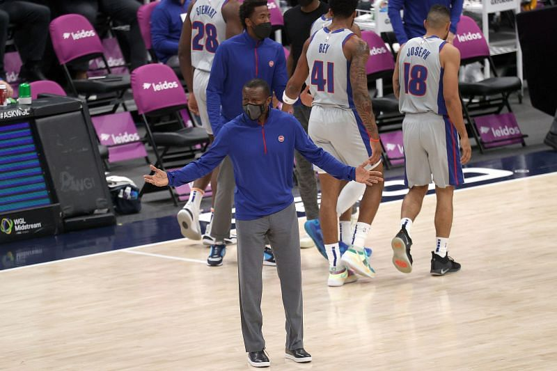 Detroit Pistons coach Dwane Casey.