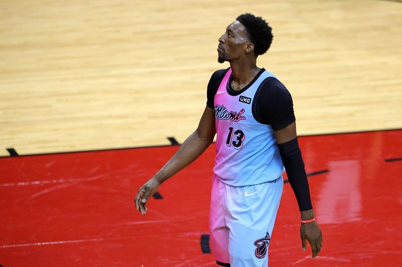 Bam Adebayo (#13) of the Miami Heat.
