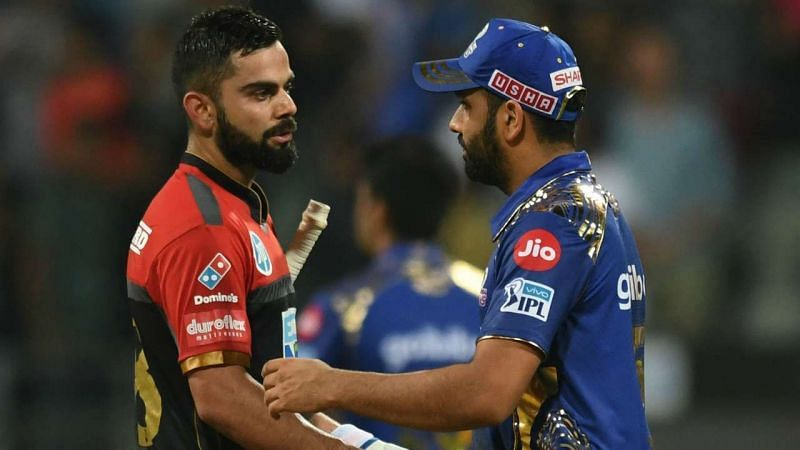 Virat Kohli and Rohit Sharma lock horns in the IPL 2021 season opener