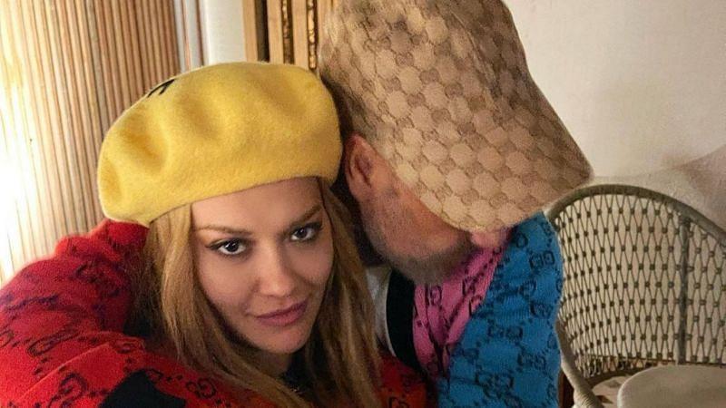Rita Ora and Taika Waititi (via Instagram)