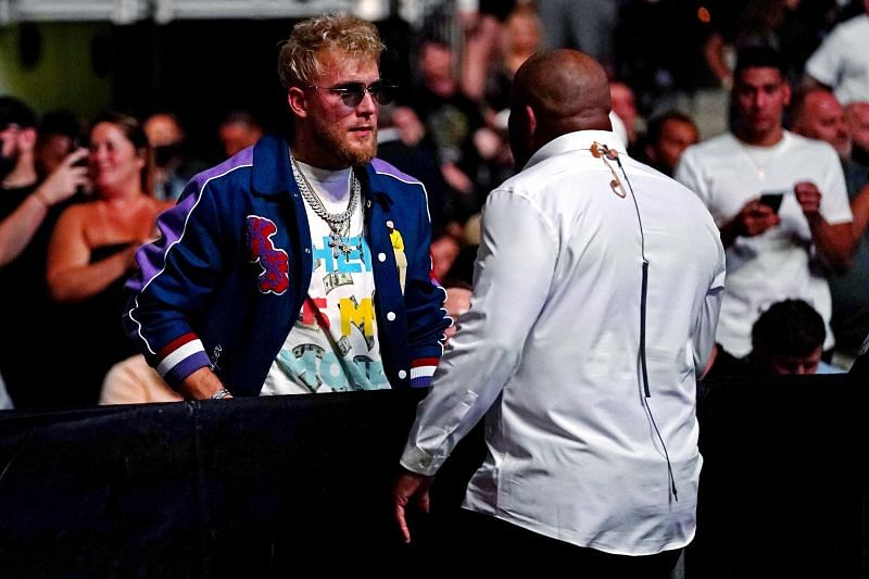 Jake Paul and Daniel Cormier got into a heated exchange at UFC 261.