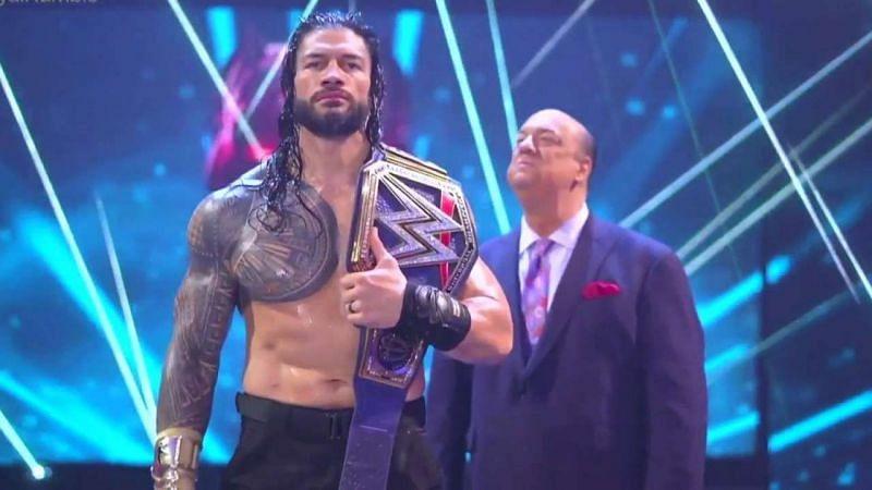 WWE यूनिवर्सल चैंपियन रोमन रेंस