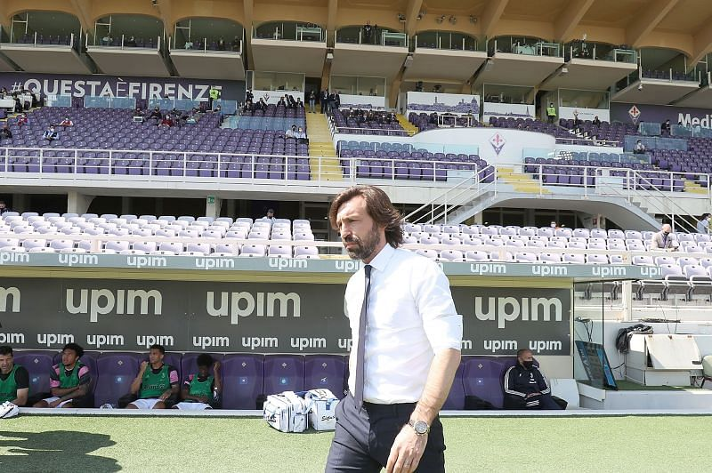 Pirlo has had a disappointing season with Juventus