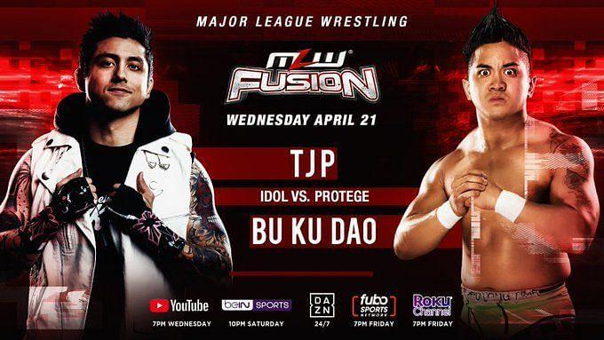 MLW Fusion Main Event: TJP vs. Bu Ku Dao