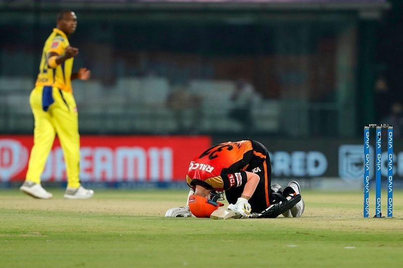 The Sunrisers Hyderabad suffered their fifth defeat of IPL 2021 (Image Courtesy: IPLT20.com)